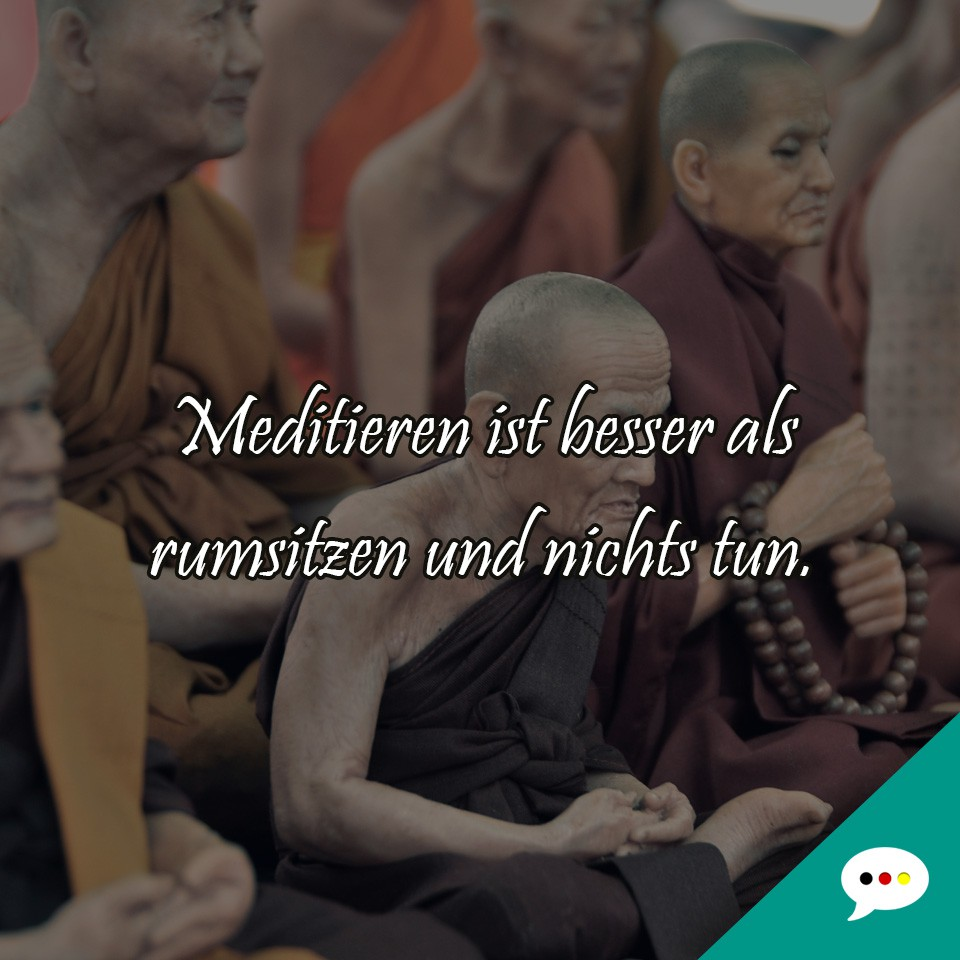 Meditation - Spruchbild