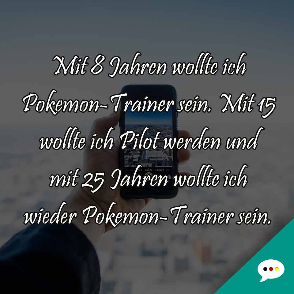 Pokemontrainer - Spruchbild